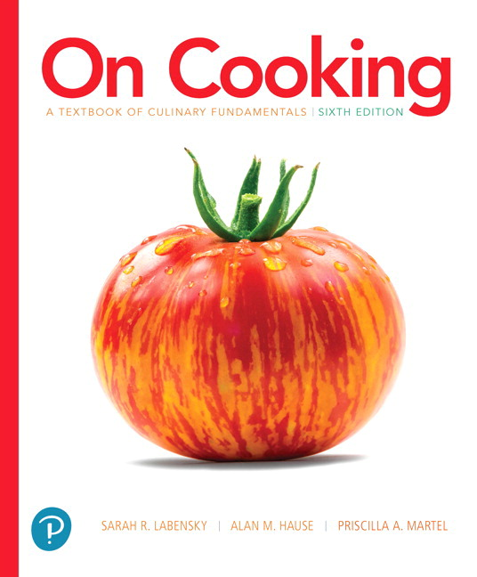 study guide for on cooking a textbook of culinary fundamentals