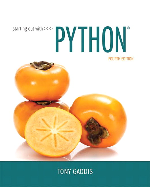 gaddis starting out with python pearson rh pearson com starting out with python solutions manual pdf Starting Out with Python 4th Edition