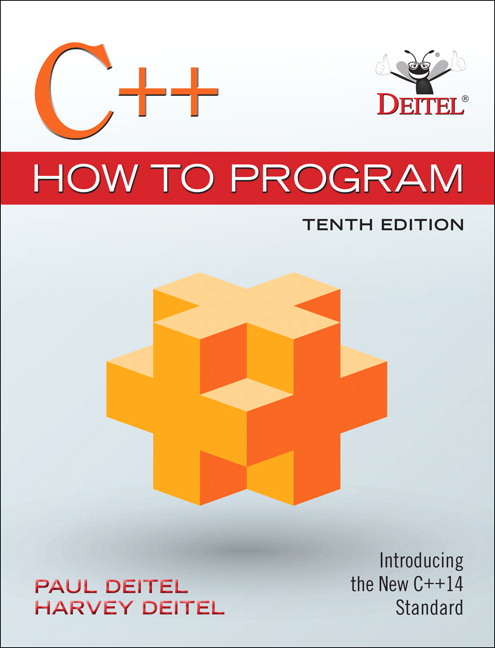 C++ How to Program (Early Objects Version), Student Value Edition