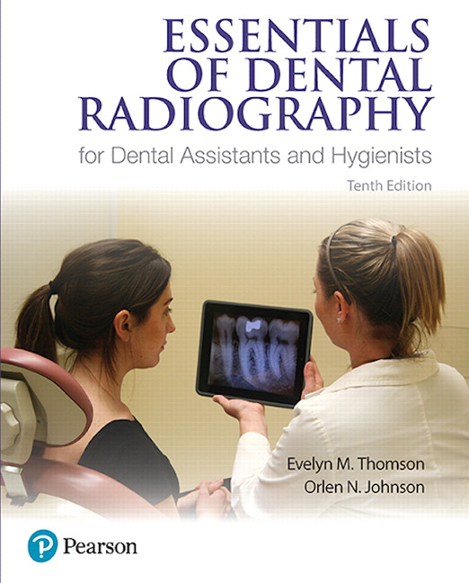 Thomson Johnson Essentials Of Dental Radiography For Dental