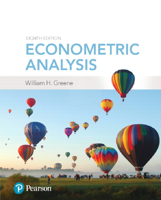 Econometric Analysis, 8th Edition