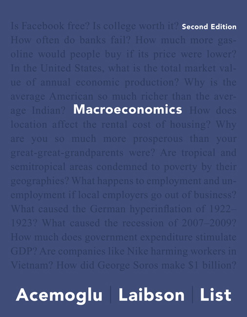 Acemoglu Laibson List Macroeconomics 2nd Edition Pearson