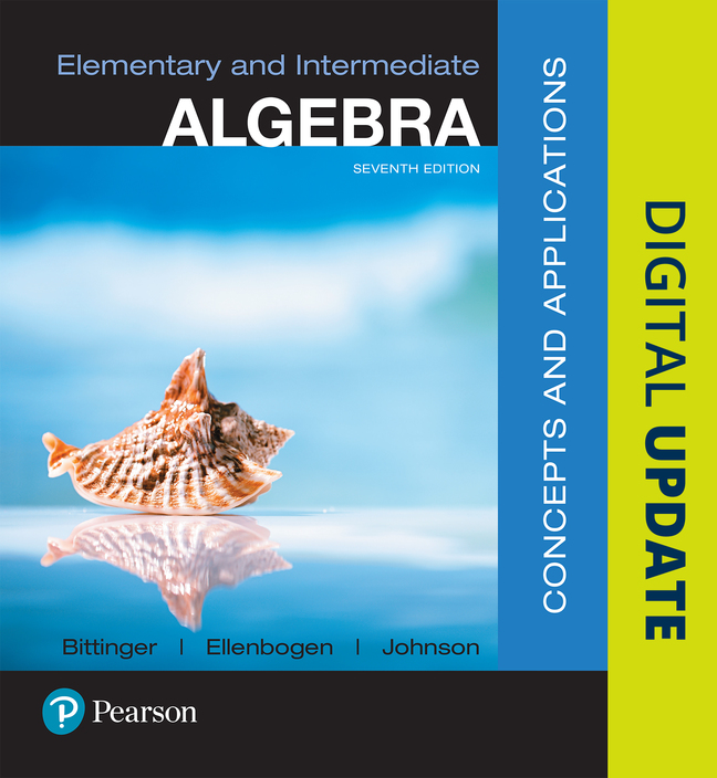 Bittinger ellenbogen johnson elementary and intermediate algebra elementary and intermediate algebra concepts and applications 7th edition fandeluxe Gallery