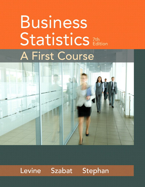 Business Statistics: A First Course, 7th Edition