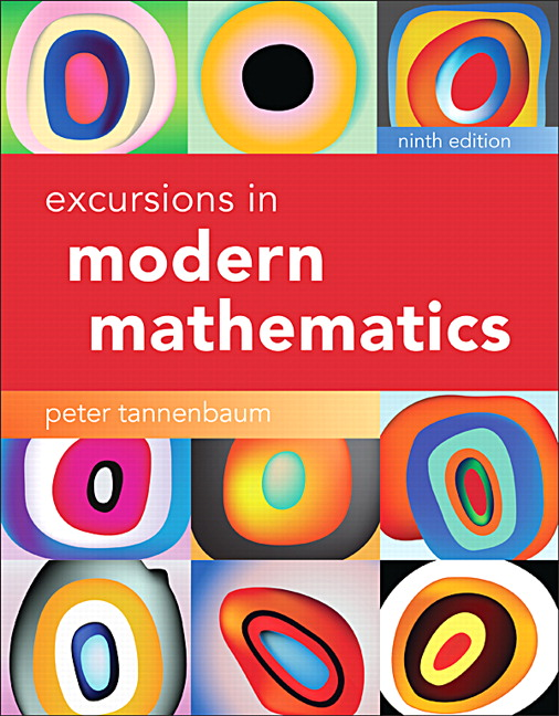Excursions in Modern Mathematics (9th Edition), Tannenbaum, Peter, Good Book