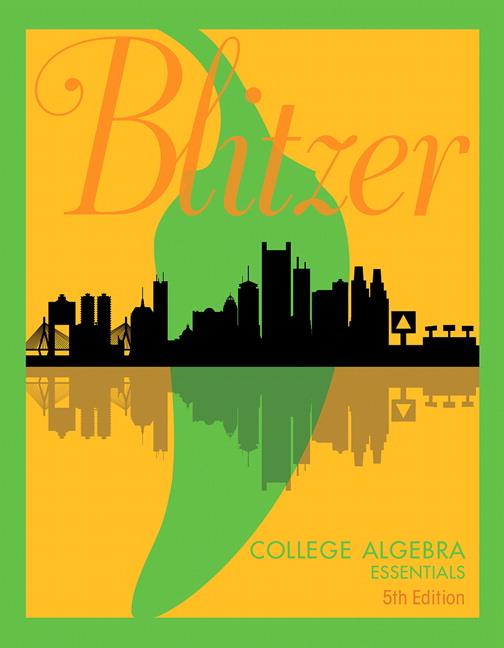 Blitzer Intermediate Algebra 5th Edition Pdf
