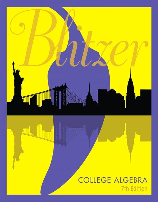 Blitzer college algebra 7th edition pearson college algebra 7th edition blitzer fandeluxe Images