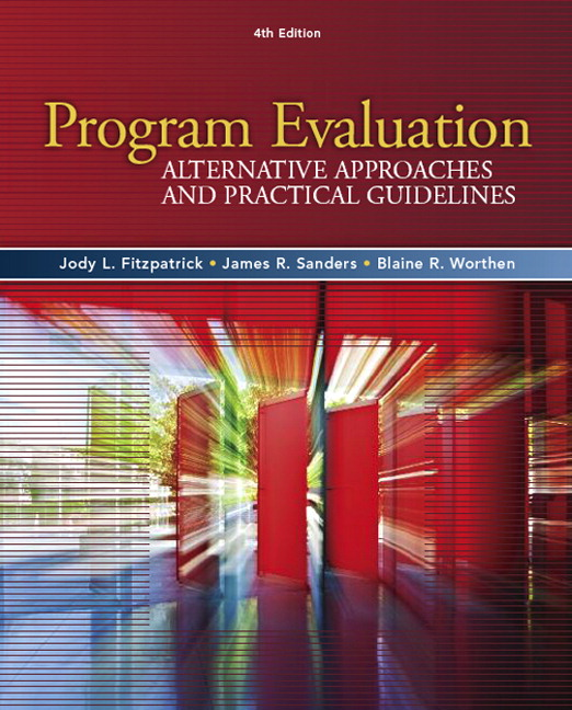 Fitzpatrick Sanders Worthen Program Evaluation Alternative – Program Evaluation