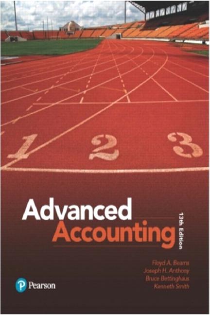 Advanced Accounting, 13th Edition