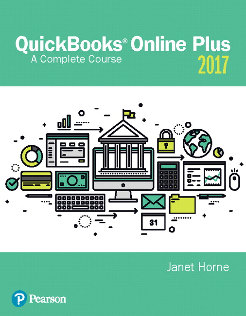 Horne quickbooks online plus a complete course 2017 2nd edition quickbooks online plus a complete course 2017 2nd edition fandeluxe Images