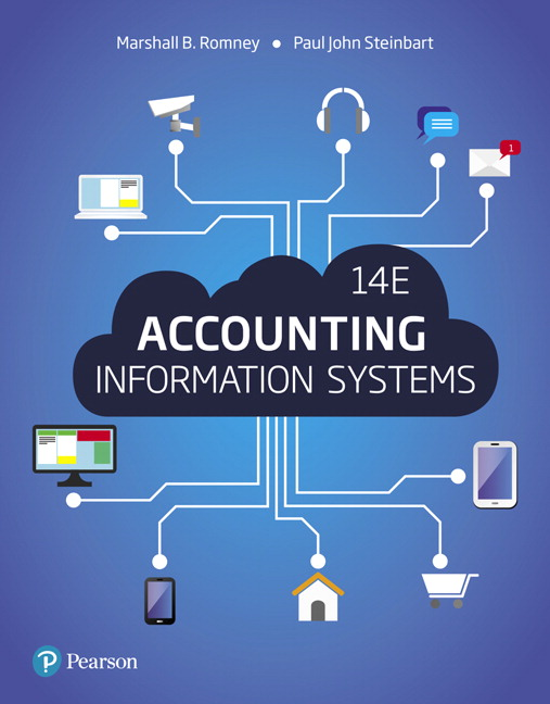 Romney & Steinbart, Accounting Information Systems, 14th Edition
