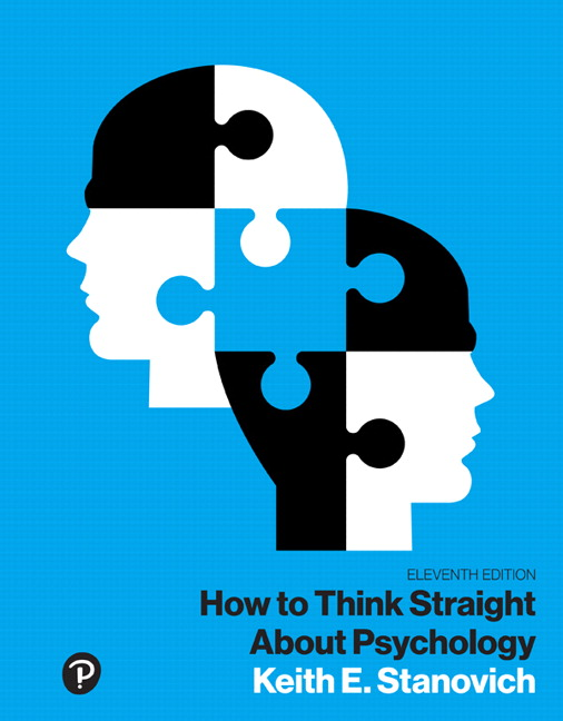 How to Think Straight About Psychology, Books a la Carte, 11th Edition