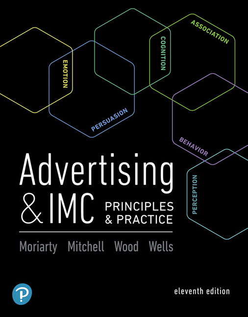 Advertising imc principles and practice 11th edition pearson advertising imc principles fandeluxe Images