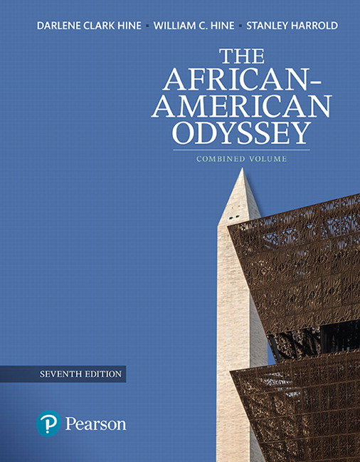 Hine hine harrold revel for the african american odyssey african american odyssey the combined volume subscription 7th edition fandeluxe Choice Image