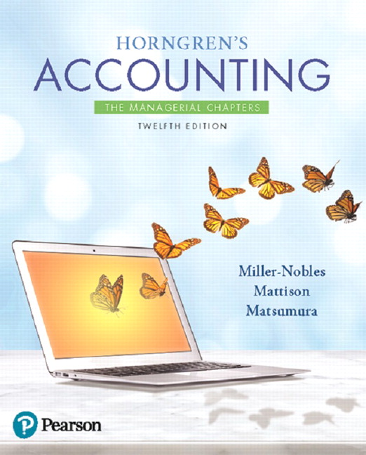 miller nobles mattison matsumura instructor s solutions manual rh pearson com Textbook Solution Manuals Student Solutions Manual