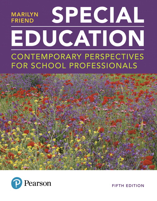 TestGen Computerized Test Bank for Special Education: Contemporary Perspectives for School Professionals