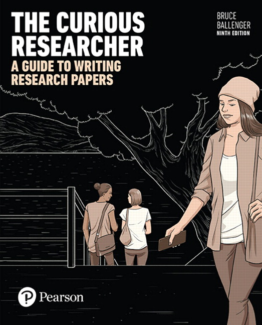 Ballenger the curious researcher a guide to writing research the curious researcher a guide to writing research papers rental edition 9th fandeluxe Image collections