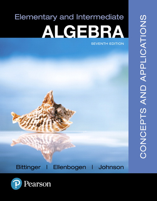 Elementary and Intermediate Algebra: Concepts and Applications (Subscription)