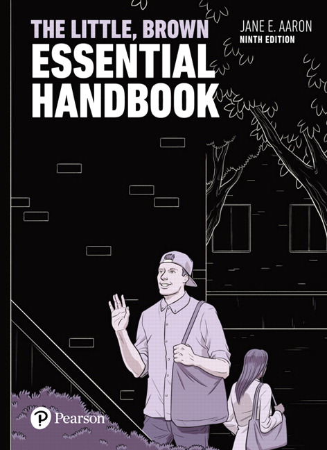 Aaron little brown essential handbook the 9th edition pearson little brown essential handbook the subscription 9th edition fandeluxe Image collections