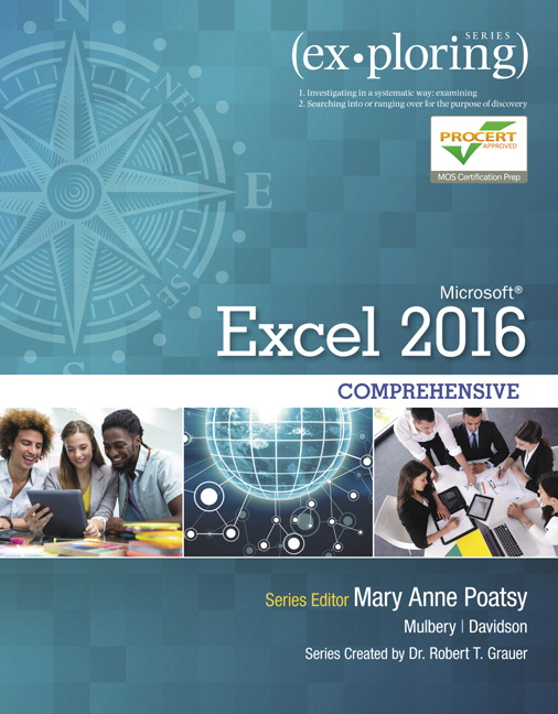 Exploring Microsoft Office Excel 2016 Comprehensive (Subscription)