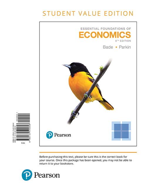 Essentials of Economics, 8th Edition