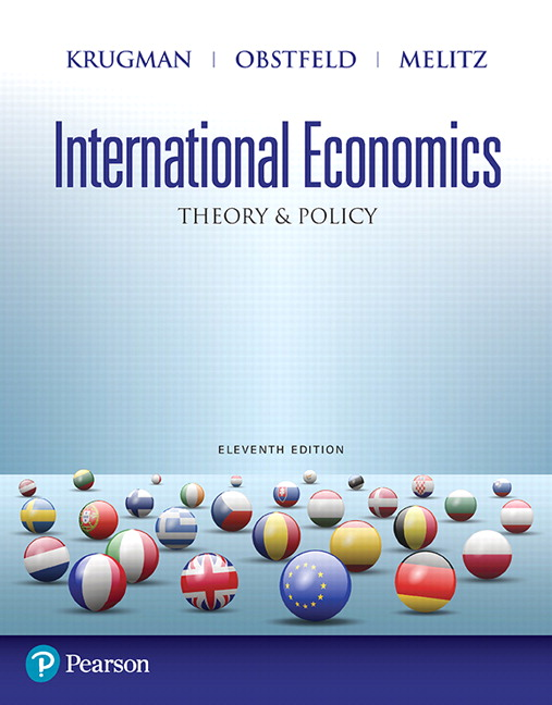 International Economics: Theory and Policy (Subscription)