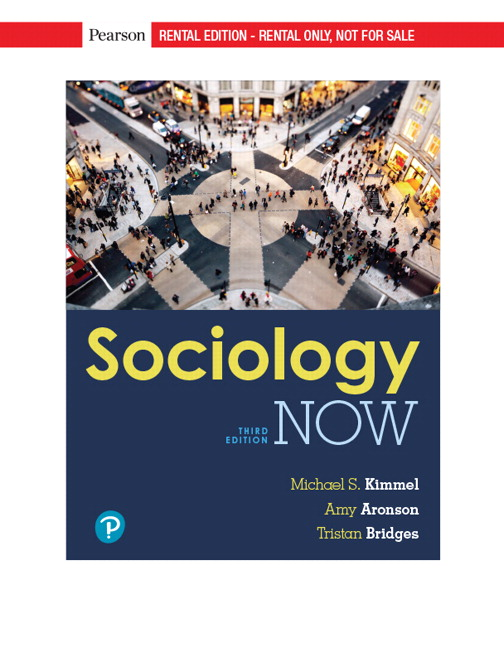 Kimmel Aronson Bridges Sociology Now 3rd Edition Pearson