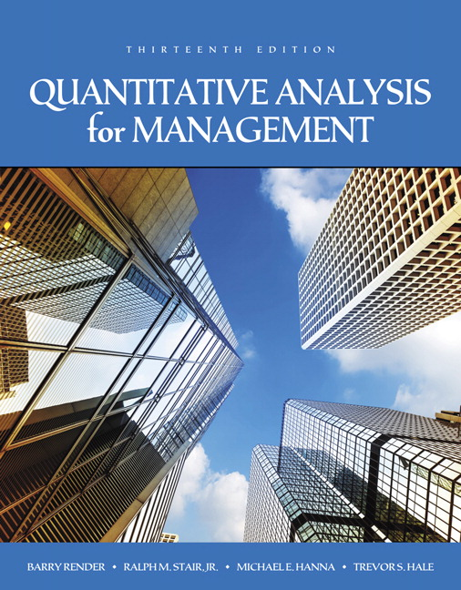 Render Stair Hanna  Hale Quantitative Analysis For Management