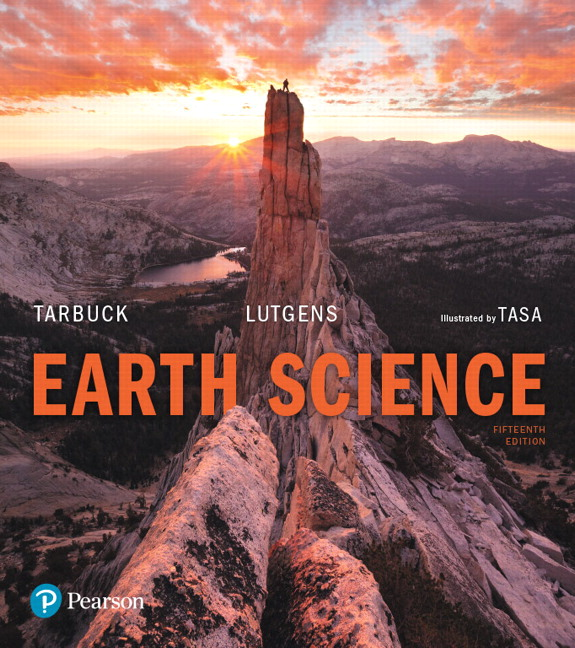 Tarbuck Lutgens Tasa Earth Science Pearson