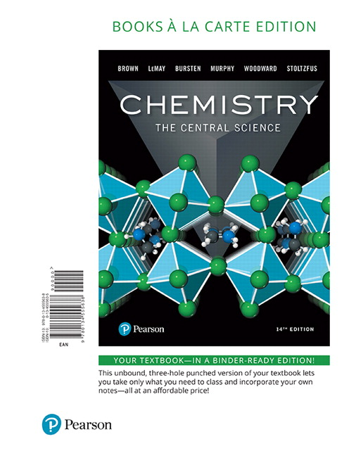 Brown lemay bursten stoltzfus chemistry the central science chemistry the central science books a la carte edition 14th edition fandeluxe Image collections