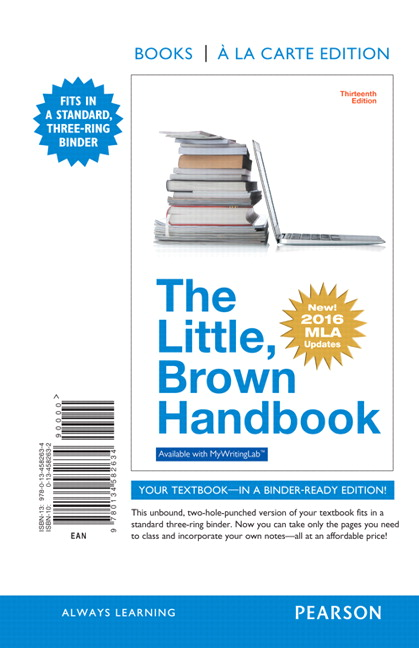 the little brown reader 11th edition essay Adapted from the little, brown handbook, 11th edition,  essay without coherence can inhibit a reader's ability to understand the ideas and main points of.