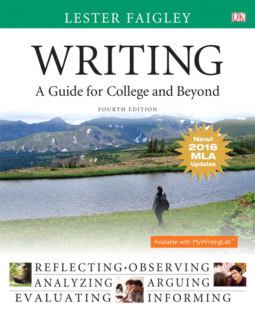 Writing: A Guide for College and Beyond, MLA Update Edition, 4th Edition