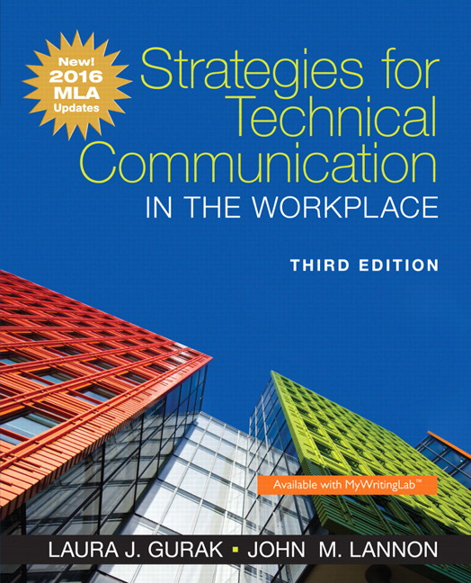 Gurak lannon strategies for technical communication in the package isbn 9780134591346 fandeluxe Image collections