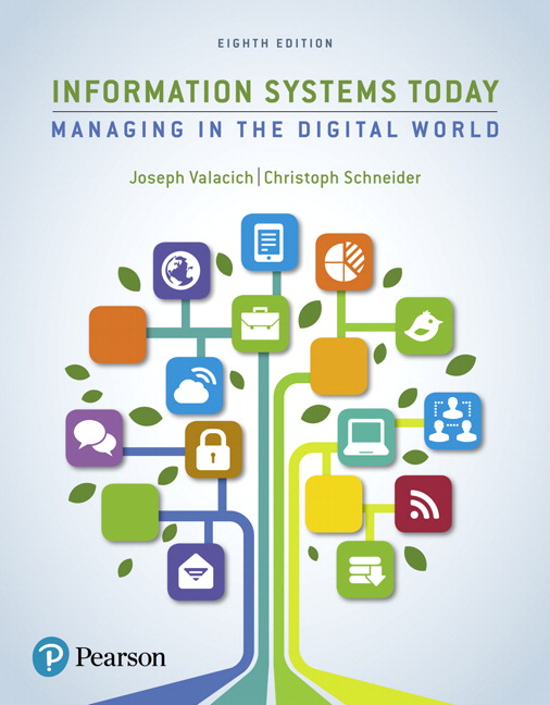 Valacich schneider information systems today managing the information systems today managing in the digital world subscription 8th edition fandeluxe Images