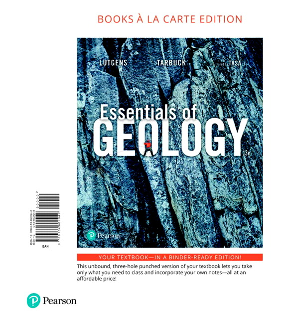 essentials of geology 13th edition quizlet