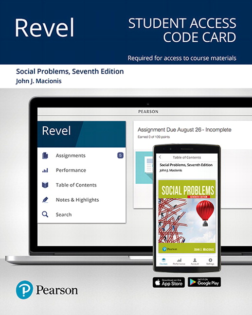 REVEL for Social Problems -- Access Card, 7th Edition