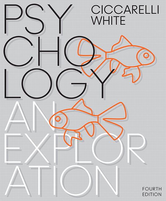 Ciccarelli White Psychology An Exploration Books A La