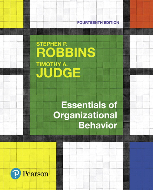 Robbins & Judge, Essentials of Organizational Behavior, Student ...