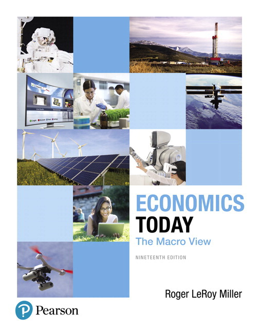 Miller Economics Today The Macro View 19th Edition Pearson