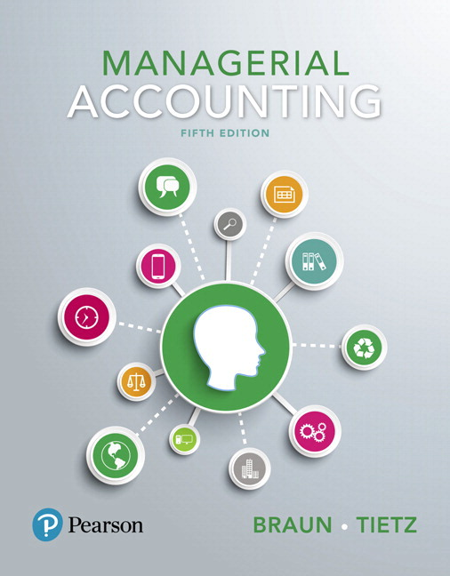 Braun tietz managerial accounting 5th edition pearson managerial accounting 5th edition fandeluxe Gallery