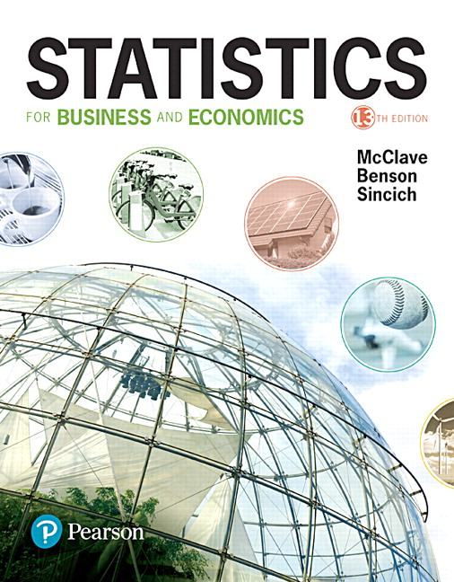 Statistics for Business and Economics, 13th Edition