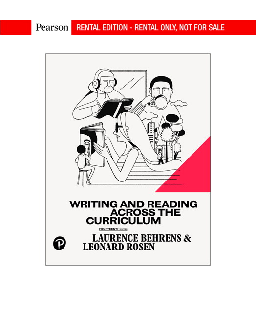 Behrens Rosen Writing And Reading Across The Curriculum