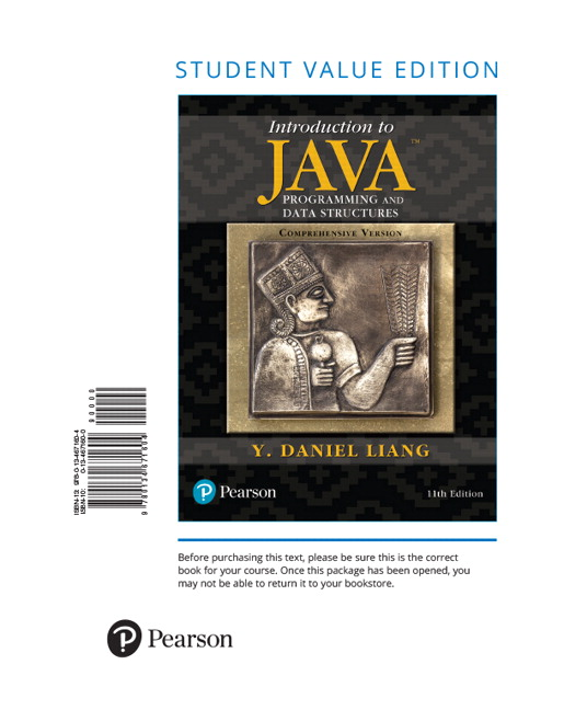 Liang introduction to java programming and data structures introduction to java programming and data structures comprehensive version student value edition 11th edition fandeluxe Choice Image