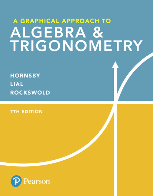 Graphical Approach to Algebra & Trigonometry, A (Subscription)
