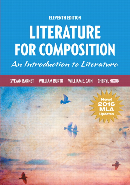 Barnet burto cain nixon literature for composition mla update package isbn 9780134827674 fandeluxe Choice Image