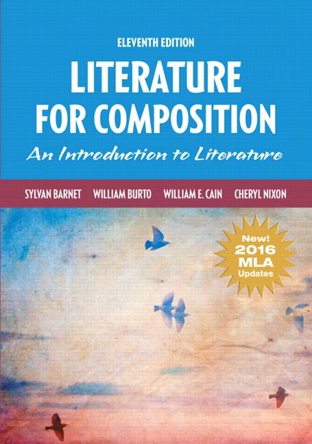 Barnet burto cain nixon literature for composition mla update literature for composition mla update 11th edition fandeluxe Image collections