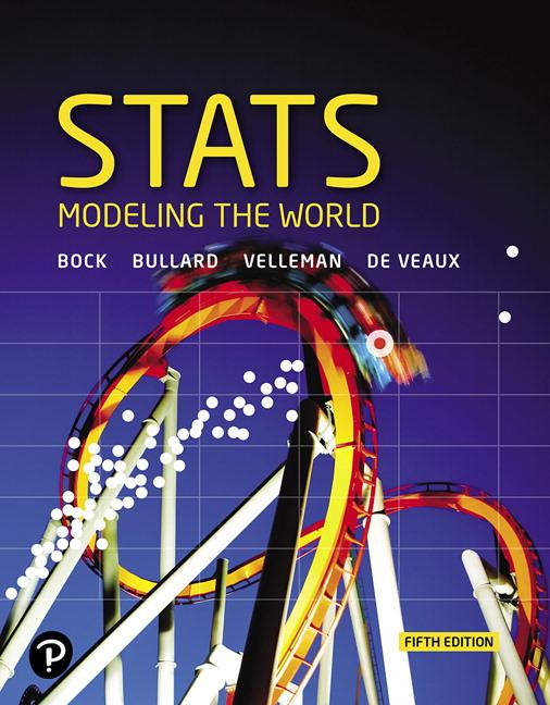 Bock Bullard Velleman De Veaux Stats Modeling The