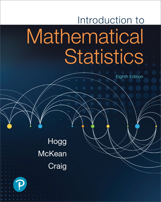 Hogg McKean Craig Introduction To Mathematical