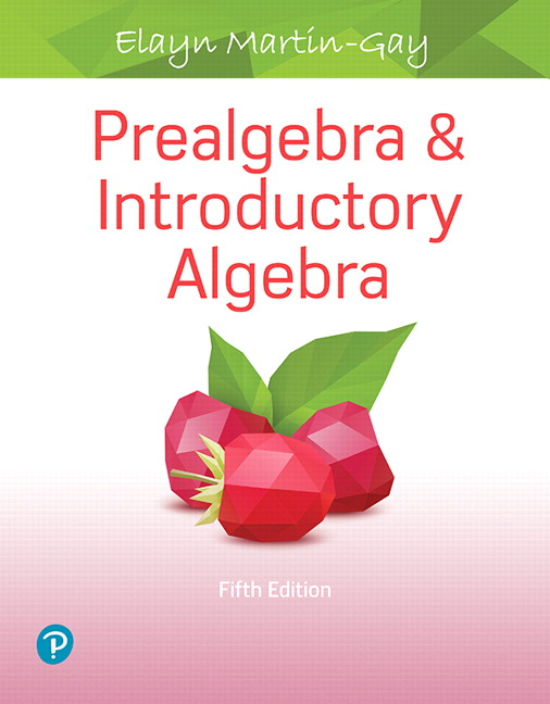 from Chace 3rd algebra edition gay introductory martin
