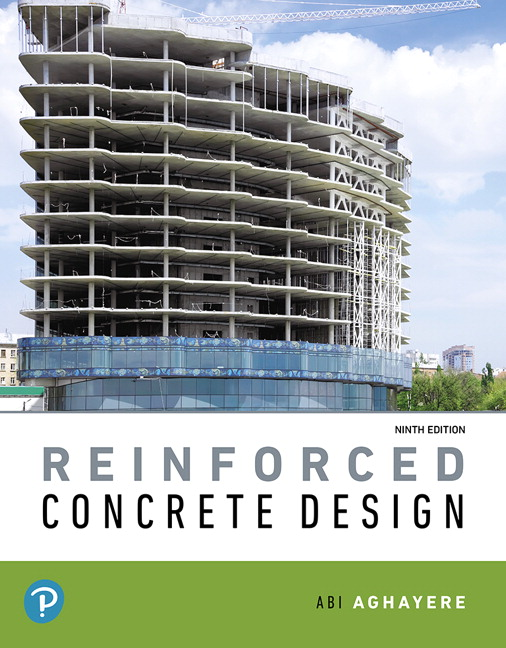 Aghayere Reinforced Concrete Design 9th Edition Pearson